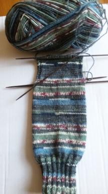 Opal-Sockenwolle