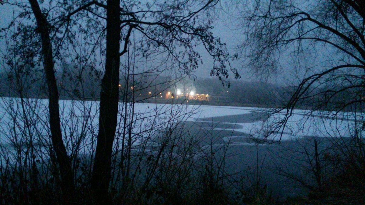 ...und der Schnee draußen schmilzt