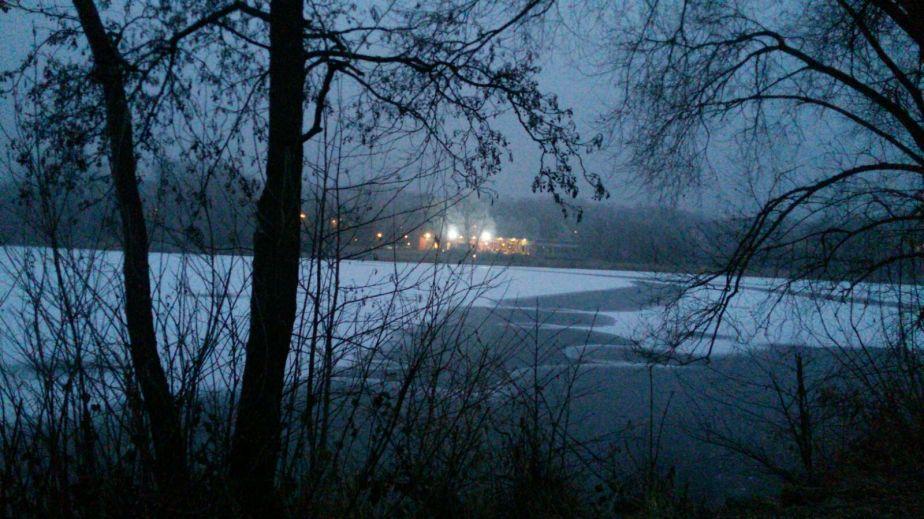 …und der Schnee draußenschmilzt